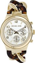Michael Kors Chain MK4222 Women's Wrist Watches, Brown Dial