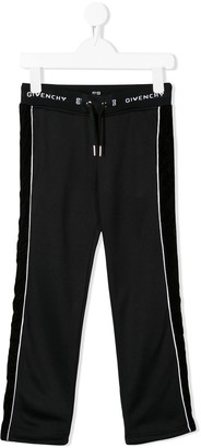 Givenchy Kids side panel track trousers