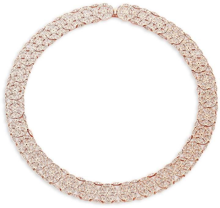 Adriana Orsini Women's Anise Crystal Collar Necklace