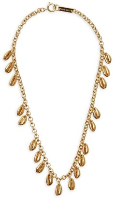 Isabel Marant Amer Cowrie Shell Necklace