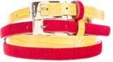 Etro Dual Buckle Belt