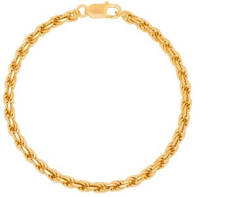 Hermina Athens gold-plated Achilles chain anklet