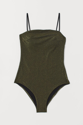 H&M Padded-cup swimsuit - Black