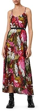 AllSaints Essie Expressive Printed Maxi Dress