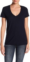 James Perse Solid V-Neck Slub T-Shirt