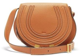 Chloé Marcie Mini Leather Cross-body Bag - Tan