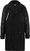 Karl Lagerfeld hooded padded coat