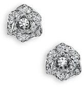 Piaget Rose Diamond & 18K White Gold Stud Earrings