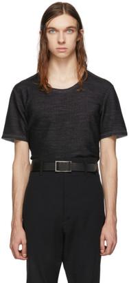 Deepti Reversible Grey Short Sleeve T-Shirt