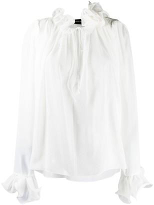 Magda Butrym Key West silk blouse