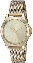 DKNY Women's Quartz Stainless Steel Automatic Watch, Color:Gold-Toned (Model: NY2534)