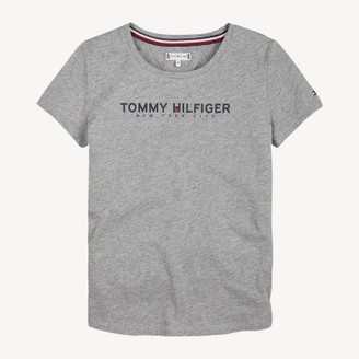 Tommy Hilfiger Crew Neck Sports Logo T-Shirt