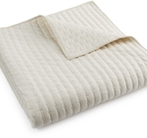 Hotel Collection Modern Eyelet Quilted Full/Queen Coverlet