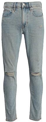 Hudson Zack Distressed Skinny Jeans