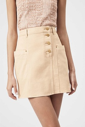 Witchery Button Detail Skirt