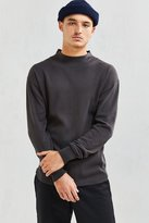 Stussy Mock Neck Thermal Long Sleeve Tee