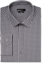 Bar III Slim-Fit Black and White Checked Dress Shirt, Only at Macy's