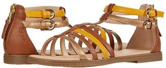 Geox Kids Sandal Karly 36 (Big Kid) (Caramel) Girl's Shoes