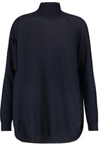Brunello Cucinelli Oversized Cashmere And Silk-Blend Turtleneck Sweater