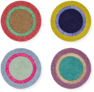 Joanna Buchanan Bright Stripe Coasters, Set of 4