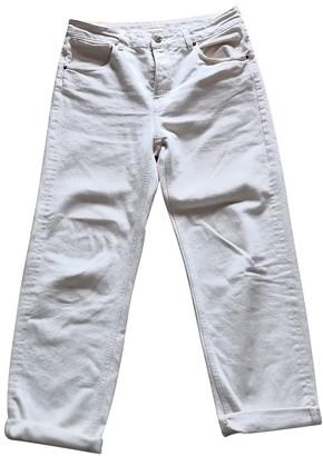 American Vintage \N Ecru Cotton Jeans for Women