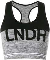 Lndr logo sports cropped top
