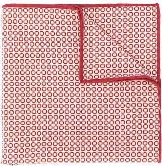 Brunello Cucinelli geometric pocket square