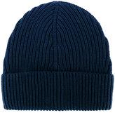 Maison Margiela ribbed beanie hat