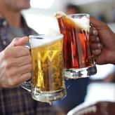 Williams-Sonoma Williams Sonoma Monogrammed Beer Mugs, Set of 4