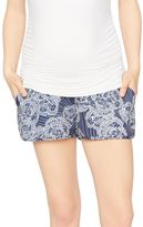 A Pea in the Pod Secret Fit Belly Soft Maternity Shorts