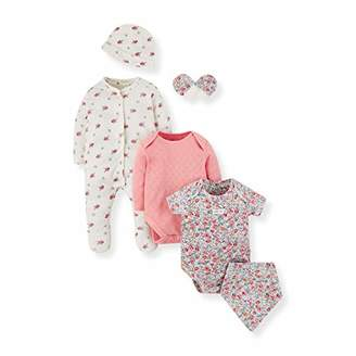 Mothercare Baby NB PF 6PCS Set Bodysuit,(Size:80)