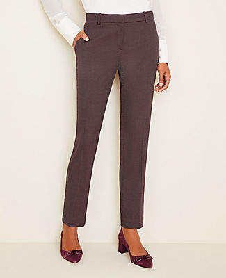Ann Taylor The Petite Ankle Pant In Pindot