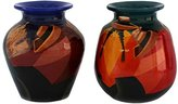 "Novica Time Out"" 2 Piece Ceramic Vases"