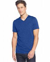 Alfani Men's Big and Tall Heathered V-Neck T-Shirt, Classic Fit