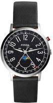 Fossil Women's Stargazer Leather Strap Watch, 40Mm