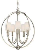 Crystorama Sylvan 5-Light Chandelier - Nickel