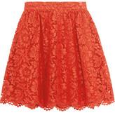 Valentino Guipure Lace Mini Skirt