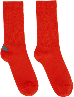 ERL Red and Blue Logo Socks