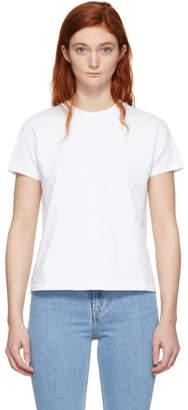 Helmut Lang White Little T-Shirt