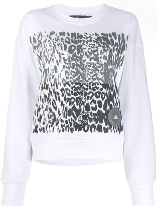 adidas by Stella McCartney Leopard-Print Sweatshirt