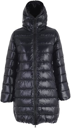 Duvetica Zipped Hooded Coat