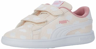 Puma Girls' Smash V2 Cloud V Inf Sneakers