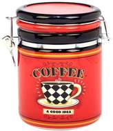 Certified International Coffee Always by LoriLynn Simms Clip Top Canister