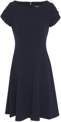 DKNY Flared Crepe Dress