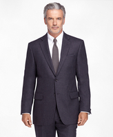Brooks Brothers Milano Fit Double-Breasted Stripe 1818 Suit