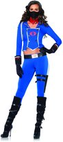 Leg Avenue Women's GI Joe 6 Piece Cobra Girl Costume