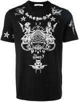 Givenchy Cuban-fit tattoo print T-shirt - men - Cotton - S