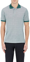 Luciano Barbera MEN'S COTTON PIQUÉ POLO SHIRT