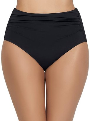 Lauren Ralph Lauren Beach Club High-Waist Shaping Bikini Bottom