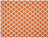 Pottery Barn Becca Tile Reversible Indoor/Outdoor Rug - Orange